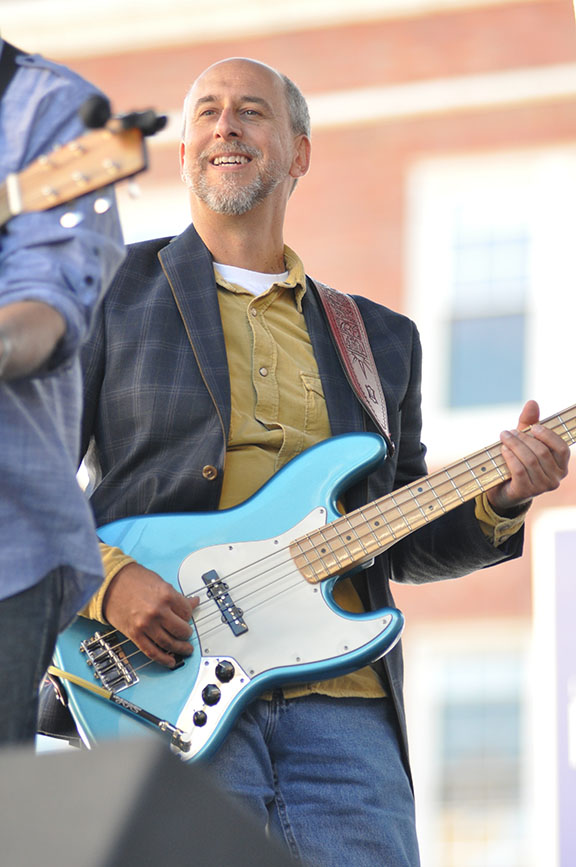 Rich Rankin on Fender Jazz Bass