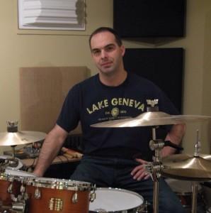 Drummer Tom Hipskind